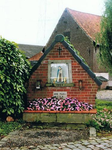 Harelbeke Zwevegemsestraat zonder nummer kapel