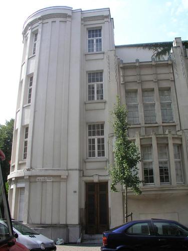 Antwerpen Koninklijkelaan 43, Hilda Ramstraat 57-59