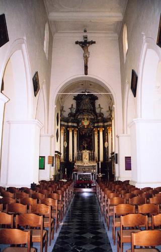 Sint-Pieters-Leeuw Dorp zonder nummer kerk