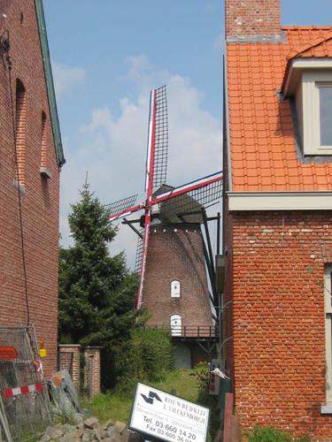 Antwerpen Zandvlietsesteenweg zonder nummer windmolen
