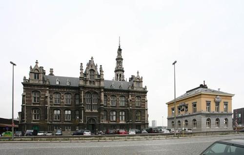 Antwerpen Tavernierkaai 3  Gebouw der loodswezen