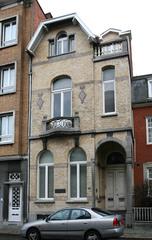 Twee burgerhuizen in eclectische stijl