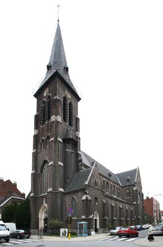 Antwerpen Lange Lobroekstraat Parochiekerk