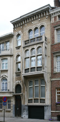 Art-nouveaugetint burgerhuis