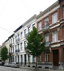 Eenheidsbebouwing van burgerhuizen