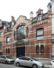 Koetshuis in art-nouveaustijl