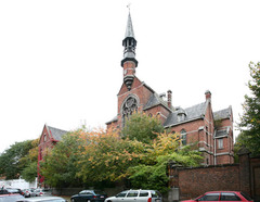 Klooster, kapel en school van de zusters franciscanessen