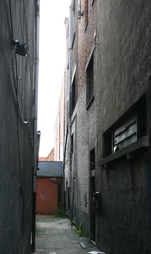Antwerpen Offerandestraat Doorgang