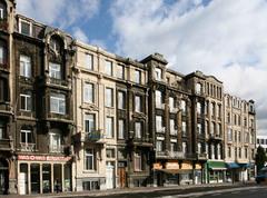 Deel Plantin en Moretuslei en aansluitende bebouwing Van Immerseelstraat en Baron Joostenstraat