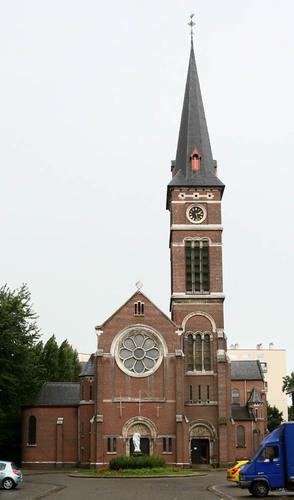 Antwerpen Sint-Catharinaplein Parochiekerk Sint-Catharina
