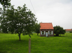 Woonhuis in boomgaard