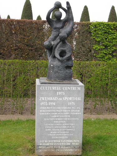 Sculptuur van keramiek
