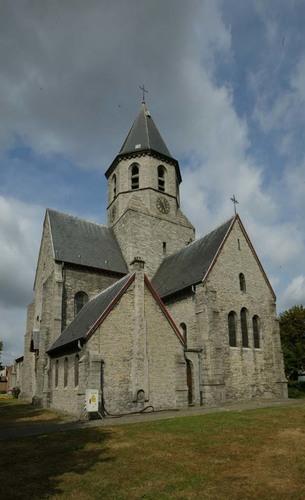 Kortrijk Rollegemplaats zonder nummer Parochiekerk Sint-Antonius abt