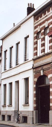 Doorniksewijk 10 - zijde Hoveniersstraat