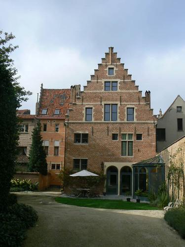 Mechelen Nieuwe Beggaardenstraat 29 - tuingevel
