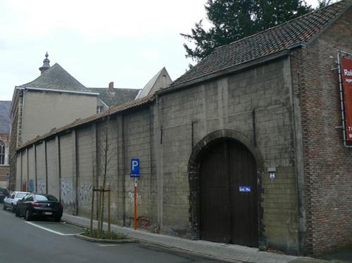 Mechelen Voochtstraat 2-4 (achterzijde, Bleekstraat)
