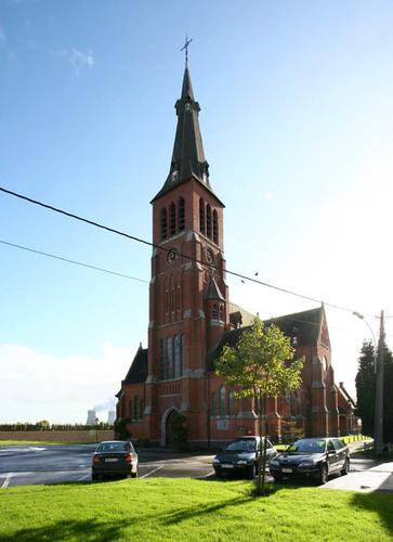 Kieldrecht Sint-Engelbertusstraat Kerk