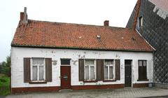 Arbeiderswoningen en gebouwen Klompenmakerij Pauwels