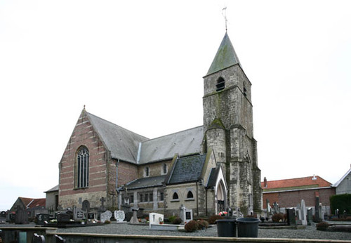 Zottegem Oombergenstraat zonder nummer Parochiekerk Sint-Martinus