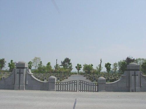 Ramskapelle: Belgische Begraafplaats: Ingang