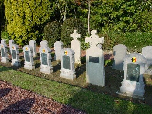 Belgische militaire begraafplaats Hoogstade
