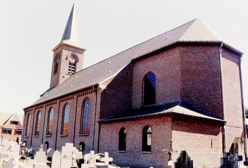 Maldegem Kleitkalseide zonder nummer Parochiekerk Sint-Vincentius-á-Paulo