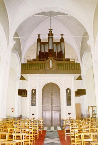 Maldegem Kleitkalseide zonder nummer Interieur van de kerk