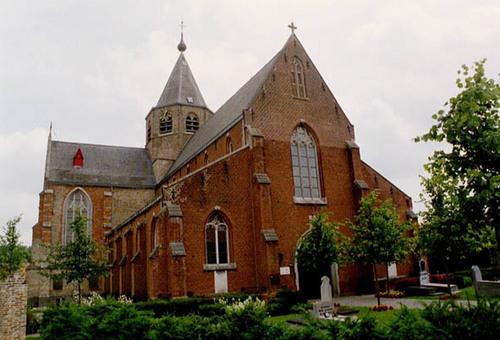 Maldegem Middelburgse Kerkstraat zonder nummer Parochiekerk Sint-Petrus en Paulus