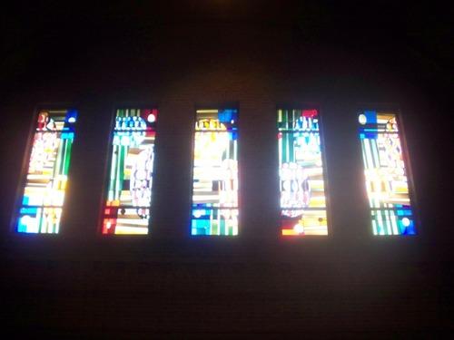 Heverlee Waversebaan 220 kerk glasramen