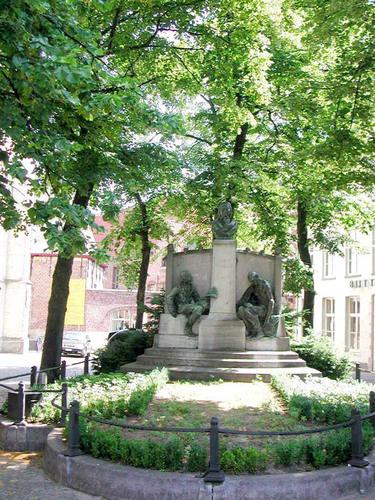 Jozef Vandaleplein z.nr. gedenkteken