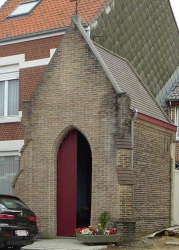 Roeselare Iepersestraat zonder nummer kapel Onze-Lieve-Vrouw van Lourdes