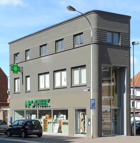 Hebbelynck jean inventaris bouwkundig erfgoed inventaris onroerend erfgoed - Gevelversiering villa ...
