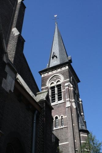 Antwerpen Koxplein zonder nummer  kerk toren