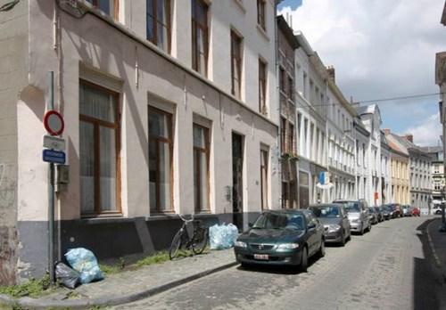 Gent Ingelandgat straatbeeld