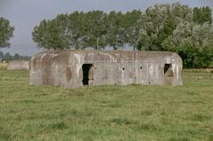Duitse bunkerlinie Eerste Wereldoorlog