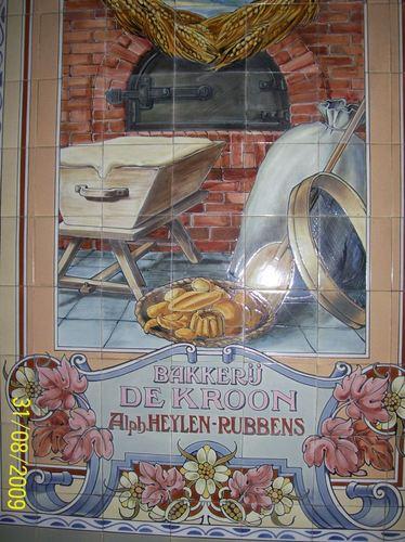Antwerpen Kroonstraat 47 tegels