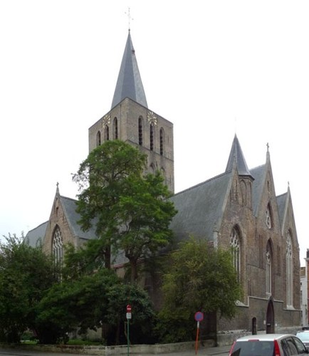 Brugge Baliestraat zonder nummer Sint-Gilliskerk