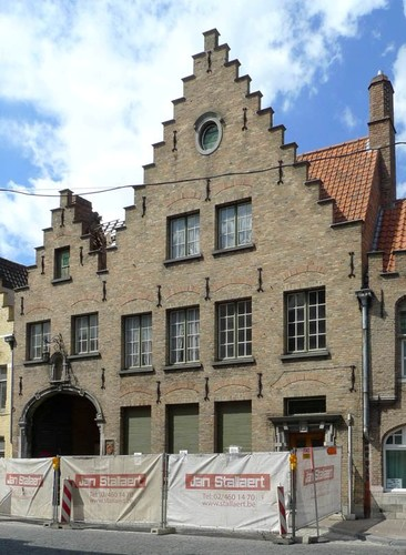 Brugge Langestraat 47,  Verbrand Nieuwland 10