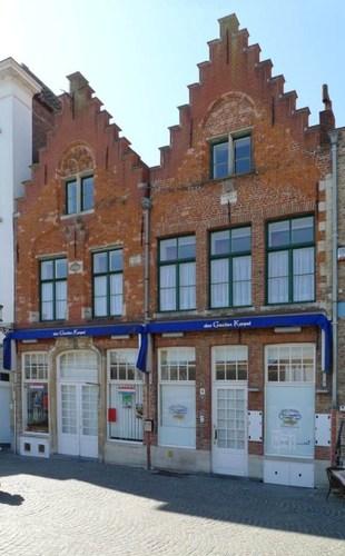 Brugge Vismarkt 10, 11