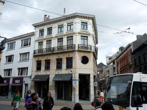 Gent Gouvernementstraat 40-44, Koestraat 35