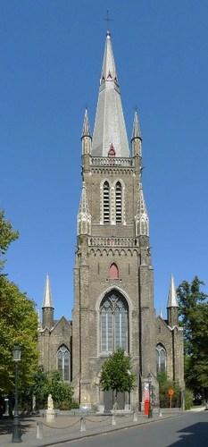 Brugge Schaarstraat zonder nummer Parochiekerk Heilige Maria Magdalena en Heilige Catharina