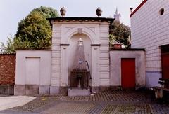 Fontein ontworpen door Jean-Baptiste Dubois