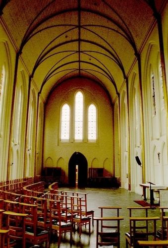 Wetteren Kwatrechtsteenweg 168 Interieur van de kapel