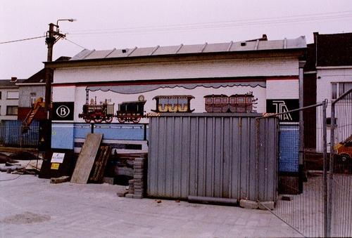 Wetteren Stationsplein 15  bijbouw