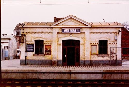 Wetteren Stationsplein 15 wachthuisje