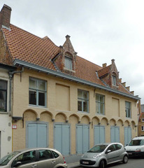 Natiehuis La Flandre met vrijmetselaarstempel