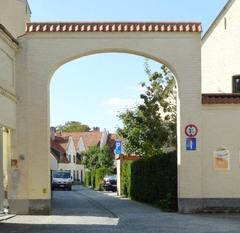 Rechthoekige poort