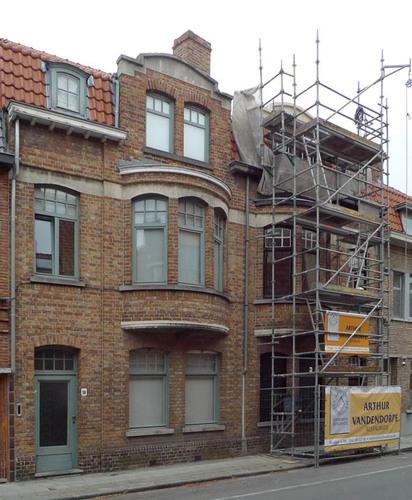Brugge Julius en Maurits Sabbestraat 34-36, 37-39