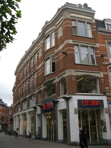 Leuven Brusselsestraat 13, Parijsstraat 2
