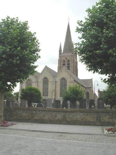 Lo-Reninge Noordstraat 1a Sint-Petruskerk